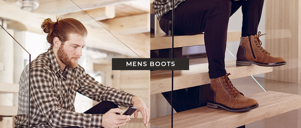 Saute-Mouton Boots for men.